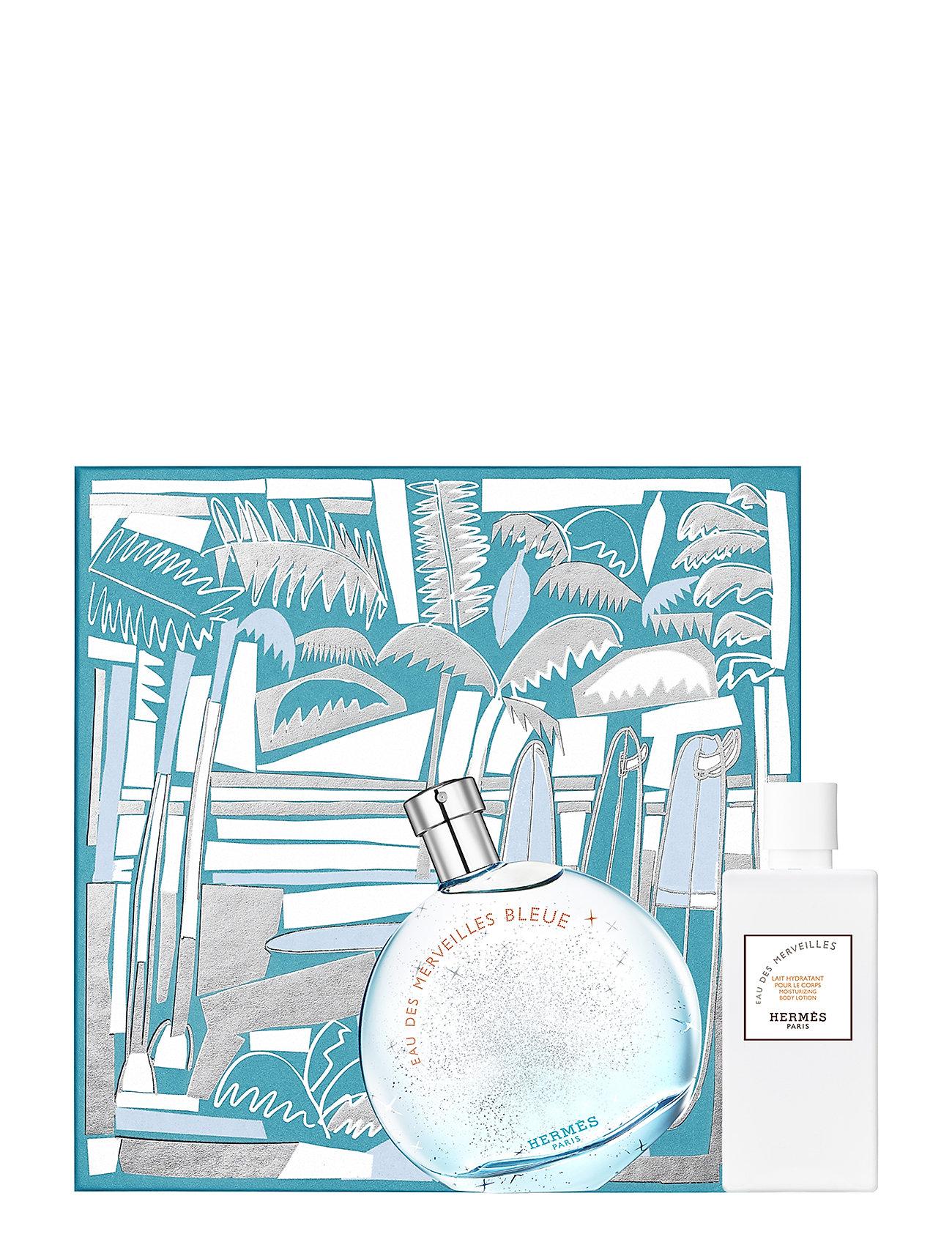 HERMÈS Eau des Merveilles Bleue Eau de Toilette set - CLEAR