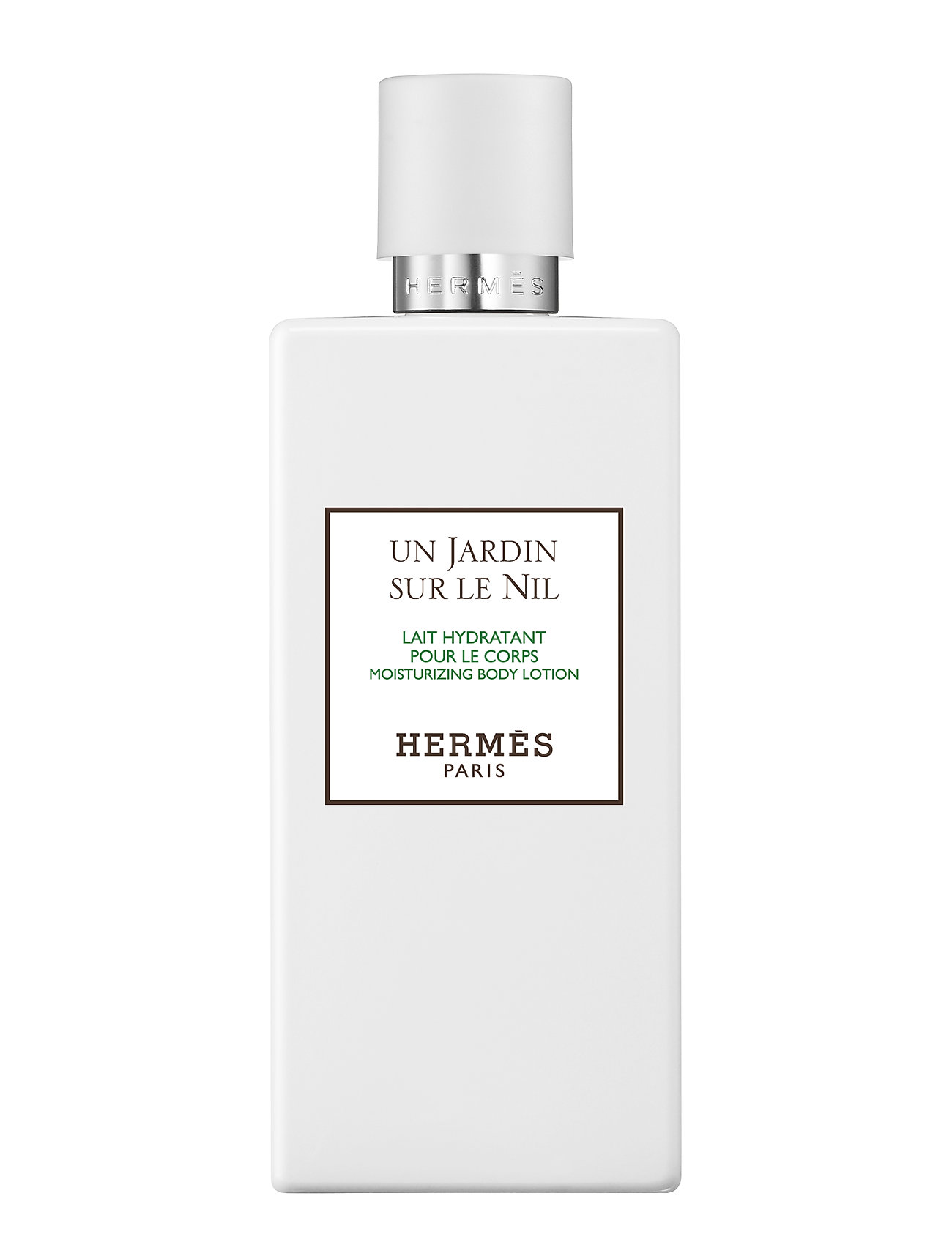 Image of Un Jardin Sur Le Nil, Perfumed Body Lotion Body Lotion Hudcreme Nude HERMÈS (3101135883)