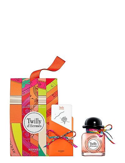 Twilly d'Hermès set with silkscarf - CLEAR