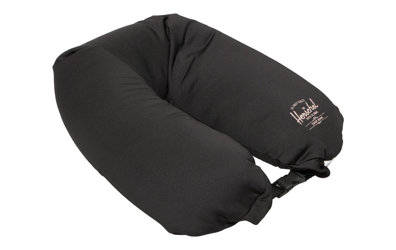 Herschel Micro Bead Pillow - Black - BLACK