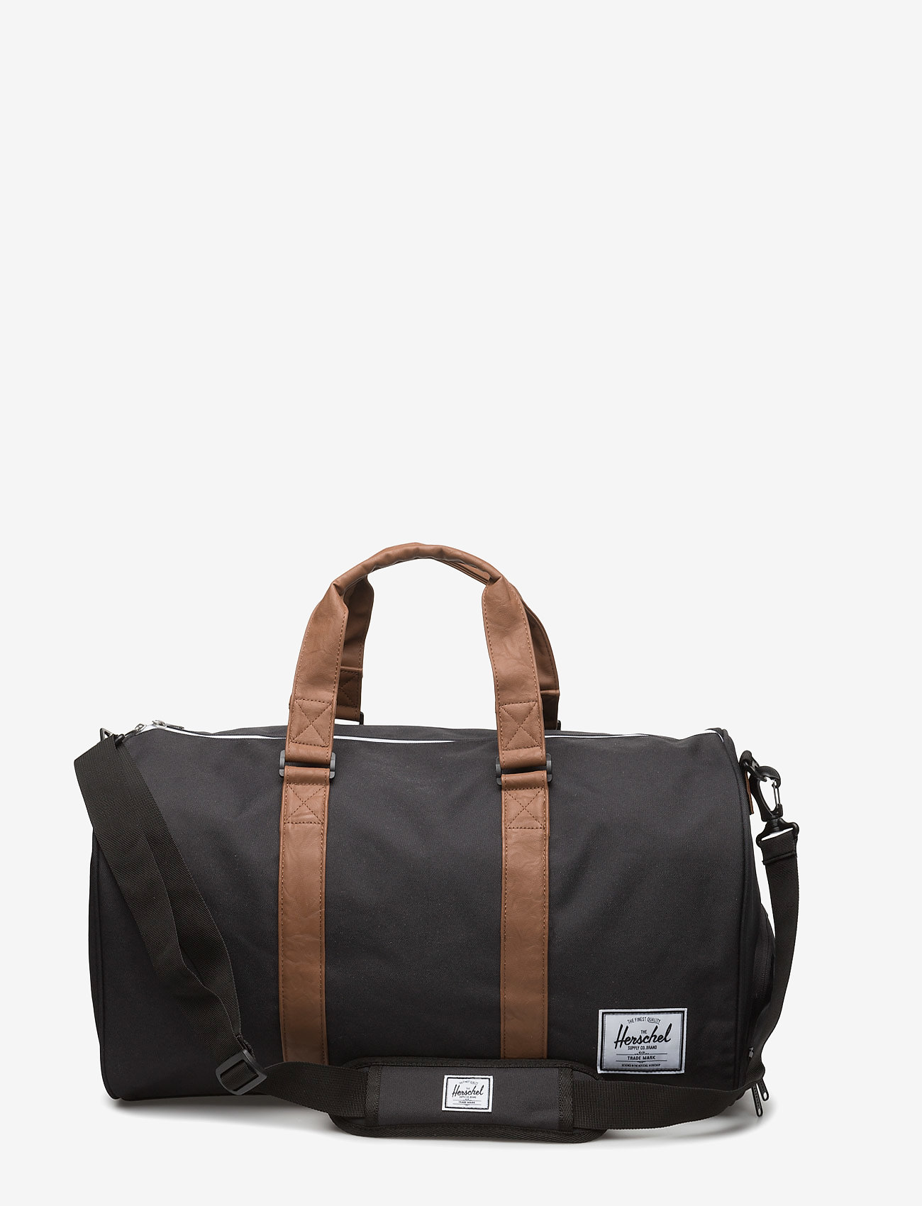 Herschel - NOVEL - 600D POLY BLACK - weekend & gym väskor - black - 0