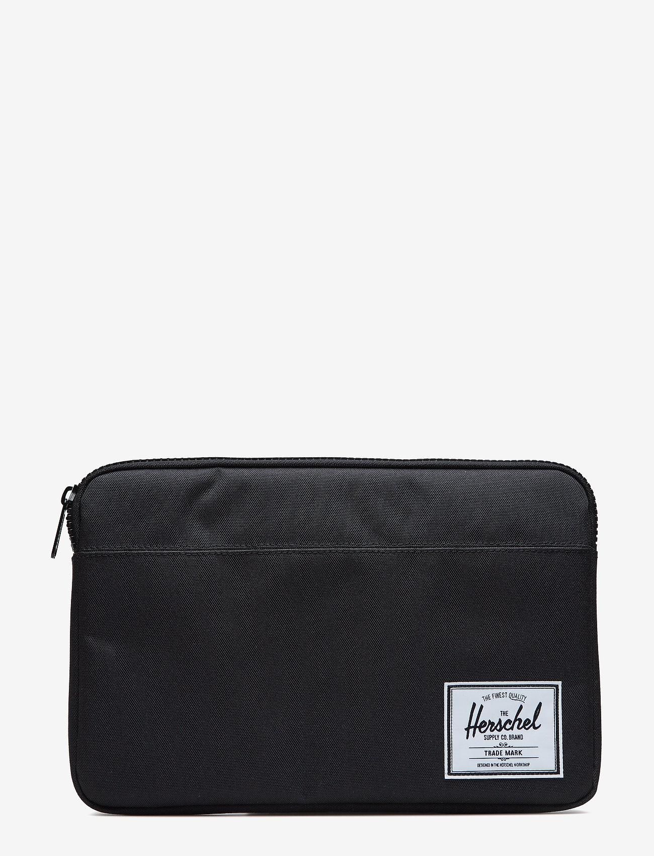 Herschel - Anchor Sleeve for 12 inch Macbook - tietokonelaukut - black - 0