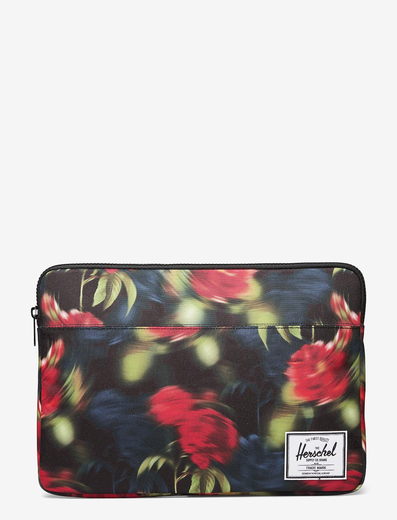 Herschel - Anchor Sleeve for 15 inch MacBook - laptoptassen - blurry roses - 0