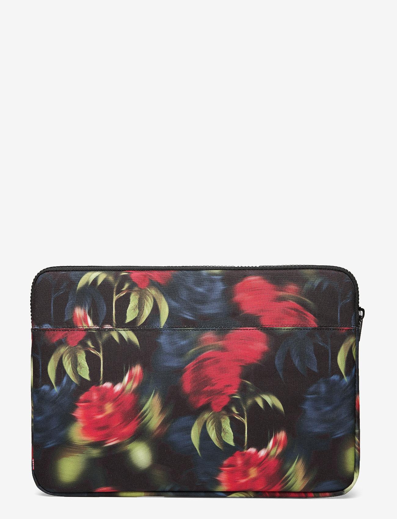 Herschel - Anchor Sleeve for 15 inch MacBook - laptoptassen - blurry roses - 1