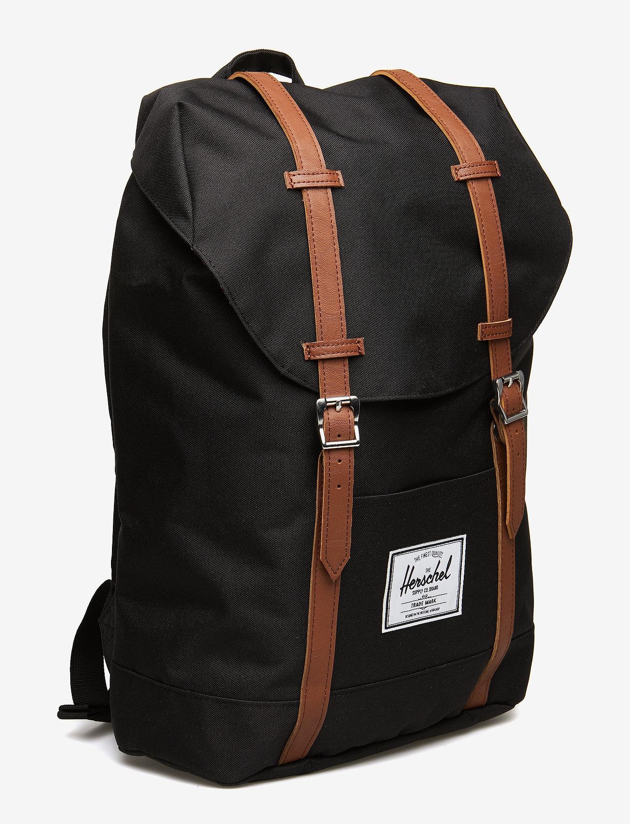 Herschel Retreat - Plecaki BLACK - Torby