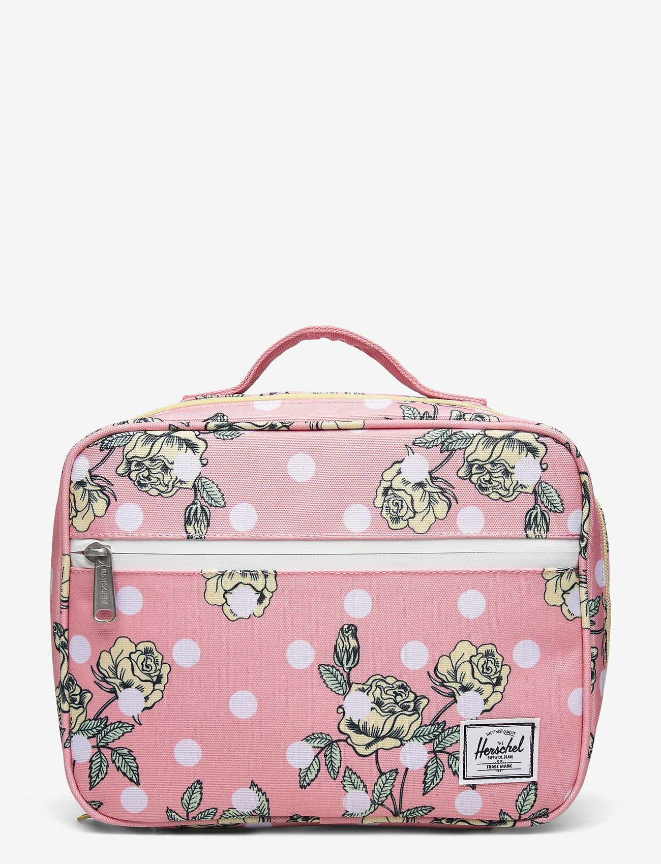 Herschel - Pop Quiz Lunch Box-Polka Floral Peony - kassit & pienet laukut - polka floral peony