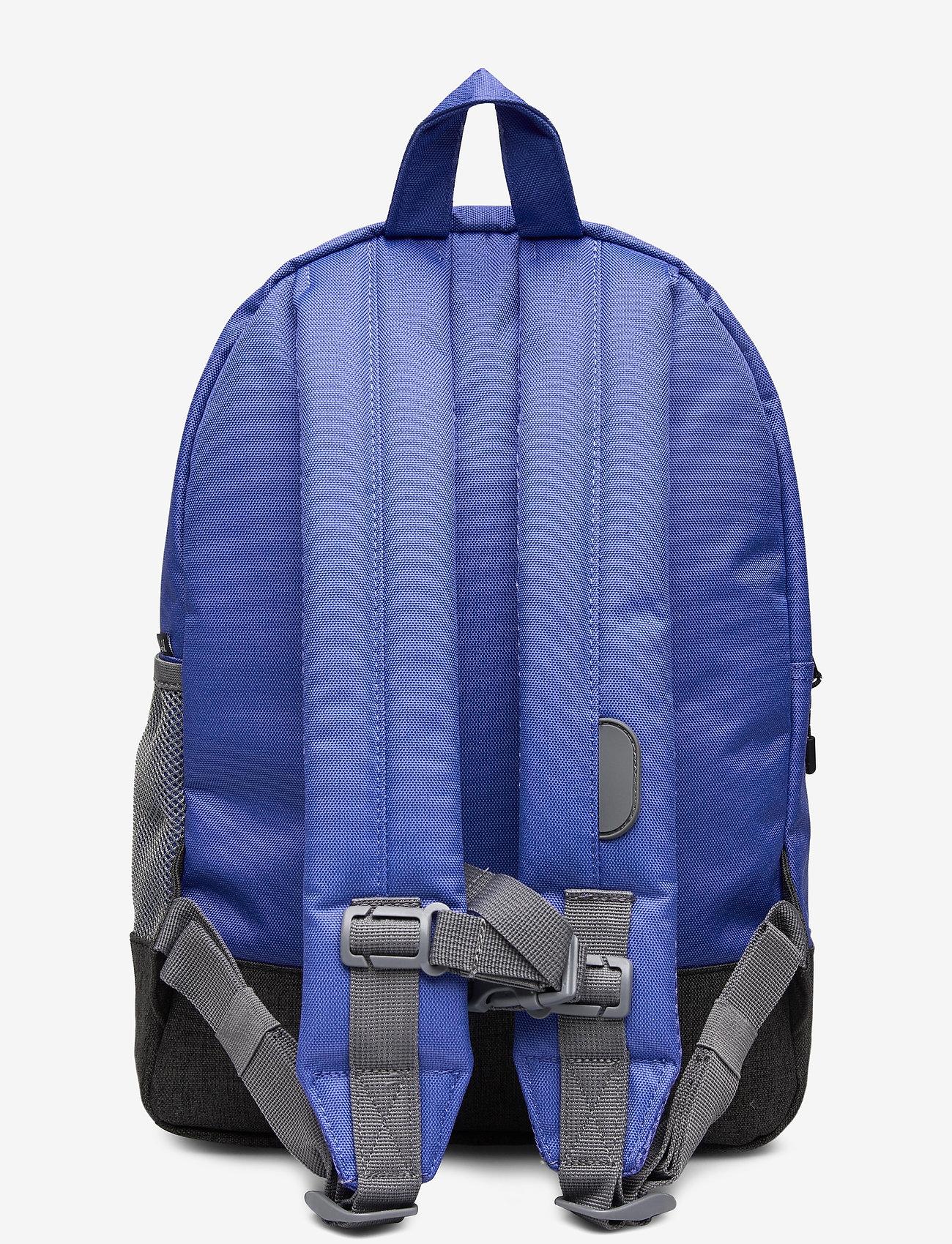 Herschel - Heritage Youth-Amparo Blue/Mid Grey Crosshatch/Bla - reput - amparo blue/mid grey crosshatc