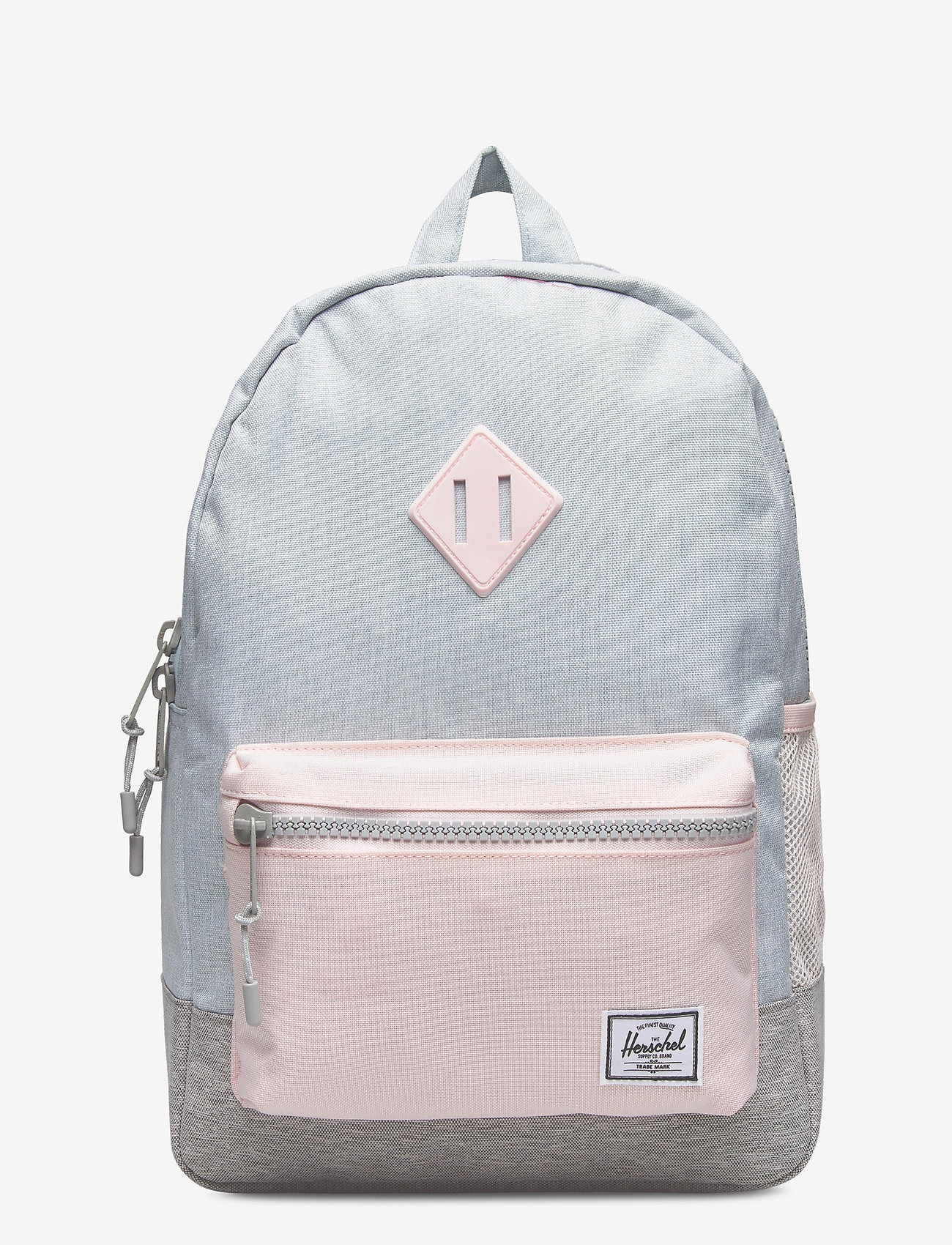 Herschel - Heritage Youth-Ballad Blue Pastel Crosshatch/Rosew - reput - ballad blue pastel crosshatch/