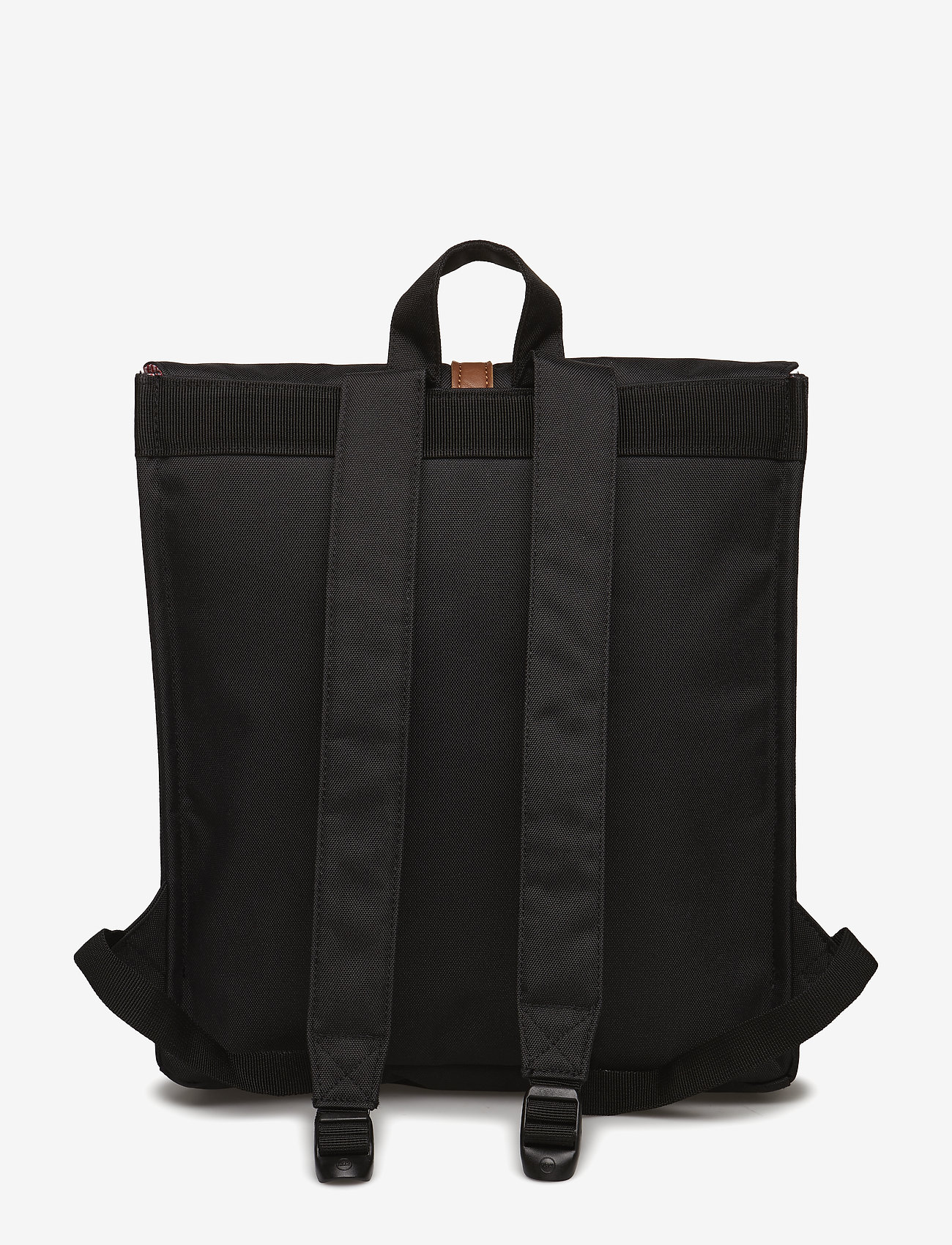 Herschel City Mid-volume - Black/tan Synthetic Leather Backpacks