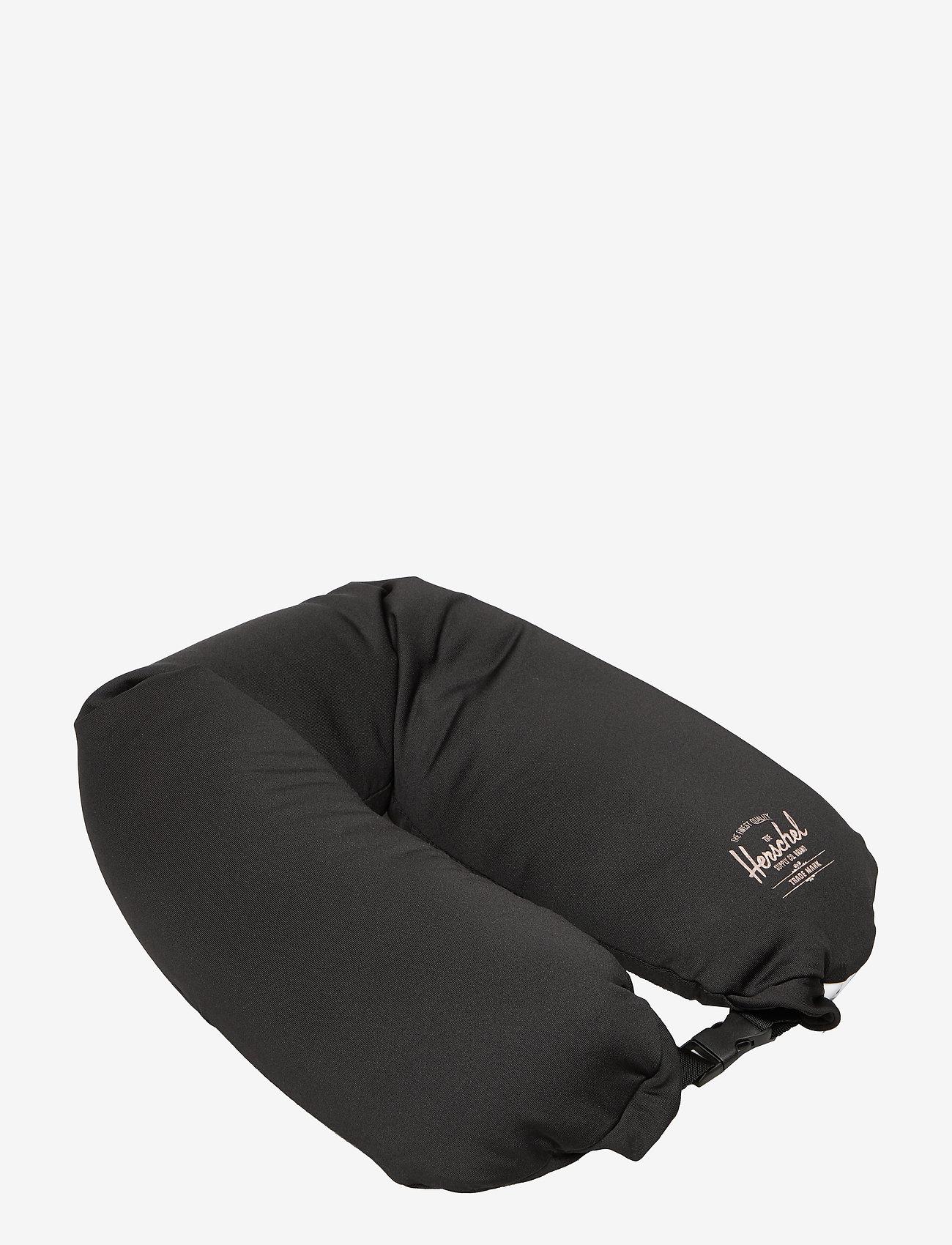 Herschel - Microbead Pillow - reise-accessoires - black - 0