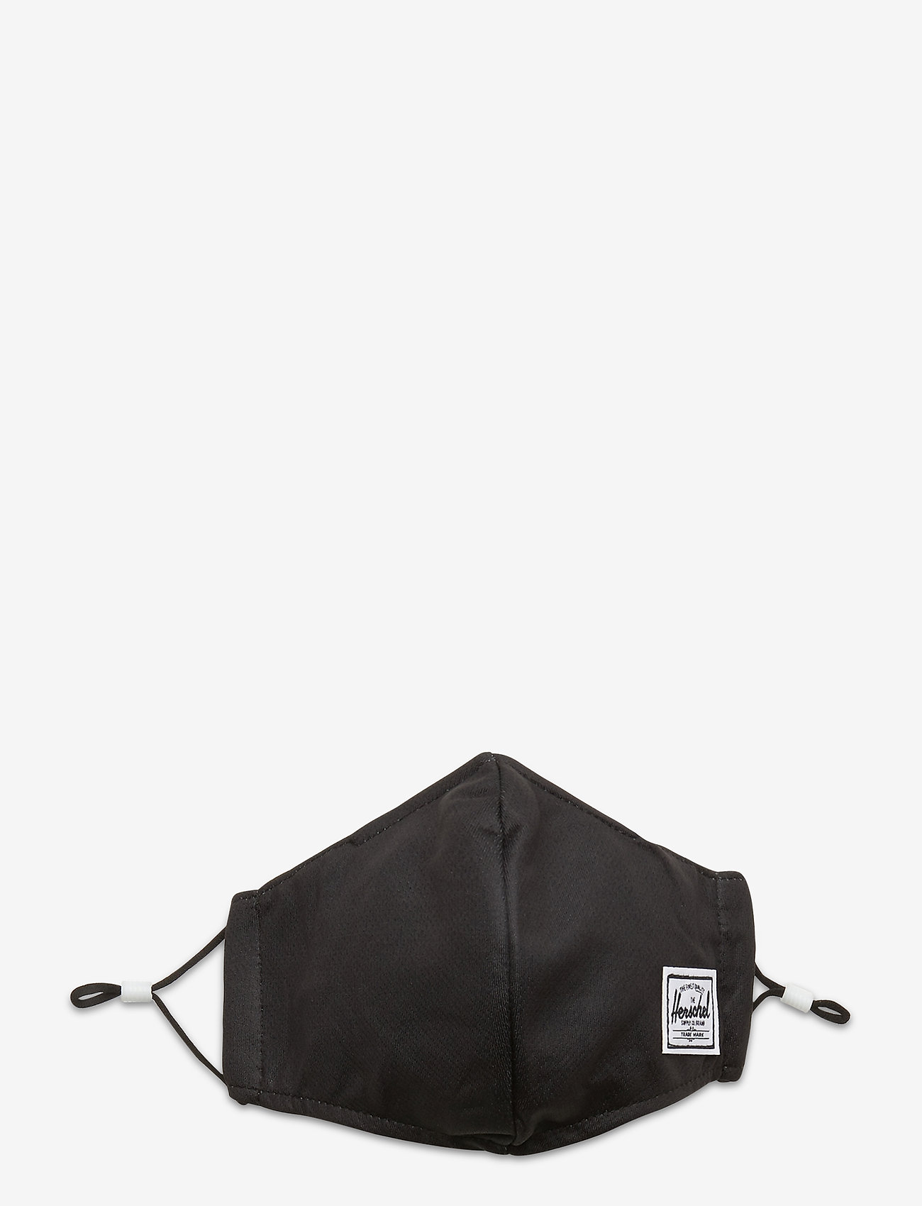 Herschel - Classic Fitted Face Mask-Black - gezicht maskers - black - 0