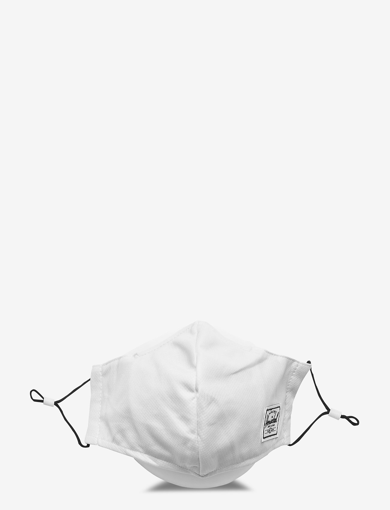 Herschel - Classic Fitted Face Mask-White - gezicht maskers - white - 0