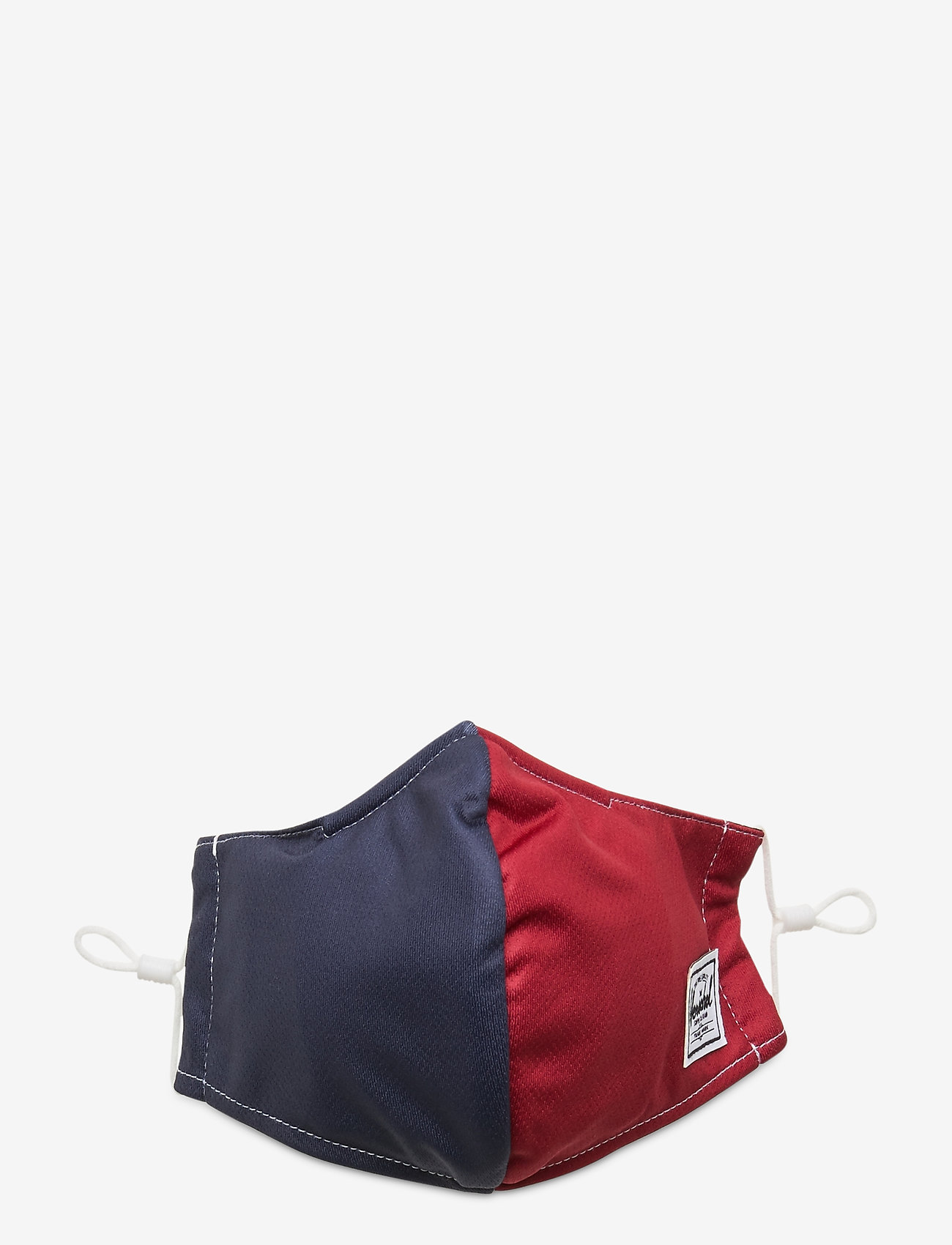 Herschel - Classic Fitted Face Mask-Blue/Red - gezicht maskers - blue/red - 0