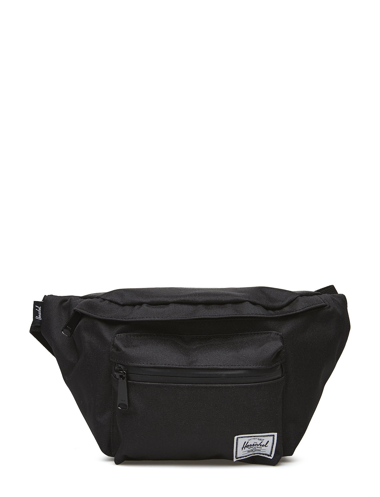 Image of Seventeen - Black/Black Zipper Bum Bag Taske Sort Herschel (3074541021)