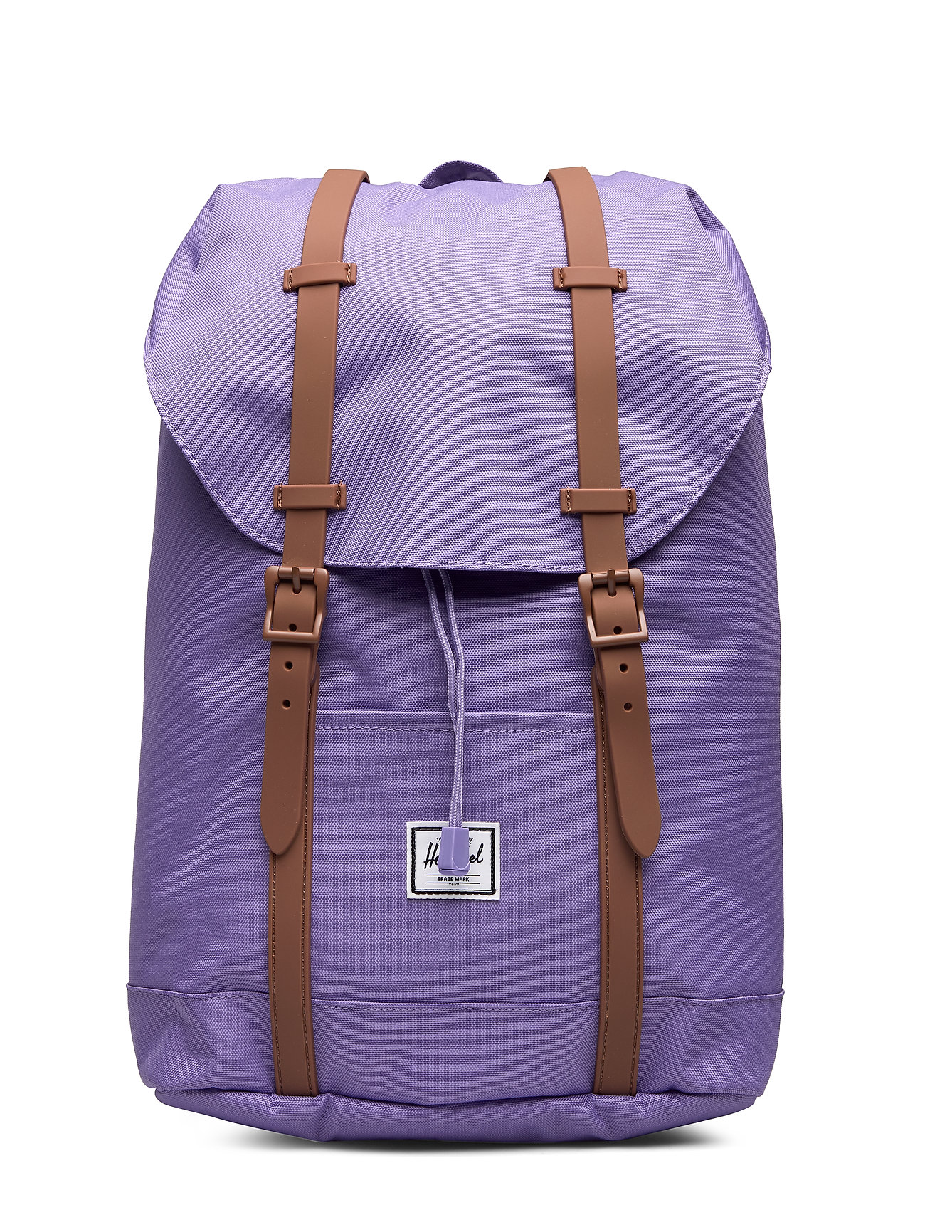 Herschel Retreat Youth-Aster Purple/Saddle Brown - ASTER PURPLE/SADDLE BROWN