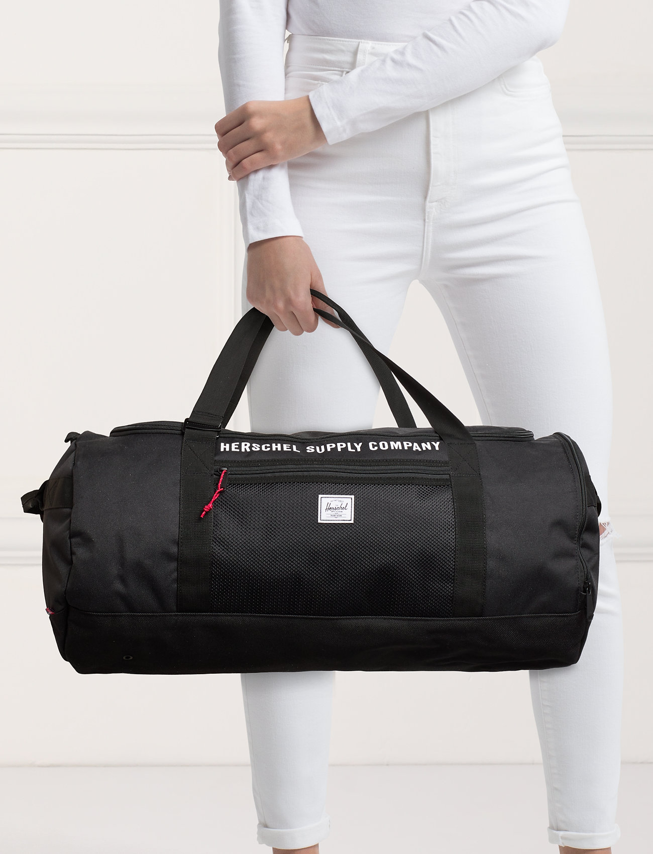 Herschel Sutton Carryall -Black - BLACK