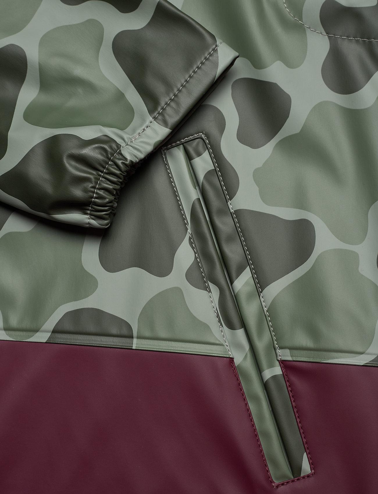 Herschel Forecast Hooded Coach - Jakker og frakker FROG CAMO/WINDSOR WINE/WHITE C - Menn Klær