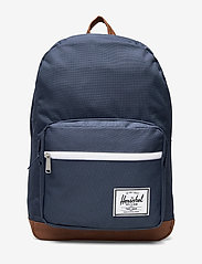 Herschel - POP QUIZ - 600D POLY NAVY - backpacks - navy - 0