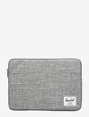 Herschel - Anchor Sleeve for Macbook - tietokonelaukut - raven crosshatch - 0