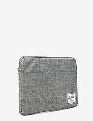 Herschel - Anchor Sleeve for Macbook - tietokonelaukut - raven crosshatch - 2
