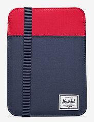 Herschel - CYPRESS MINI - 600D - laptoptassen - navy/red - 0