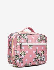 Herschel - Pop Quiz Lunch Box-Polka Floral Peony - kassit & pienet laukut - polka floral peony - 2