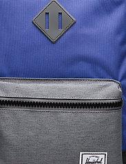 Herschel - Heritage Youth-Amparo Blue/Mid Grey Crosshatch/Bla - reput - amparo blue/mid grey crosshatc - 3