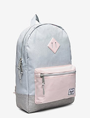 Herschel - Heritage Youth-Ballad Blue Pastel Crosshatch/Rosew - reput - ballad blue pastel crosshatch/ - 2