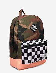 Herschel - Heritage Youth-Woodland Camo/Black&White Checker/N - reput - woodland camo/black&white chec - 2