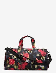 Herschel - Novel Mid-Volume - matkalaukut - blurry roses - 0