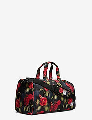 Herschel - Novel Mid-Volume - matkalaukut - blurry roses - 2