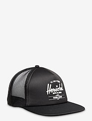 Herschel - Whaler Mesh - kasketter - black/white screen - 0