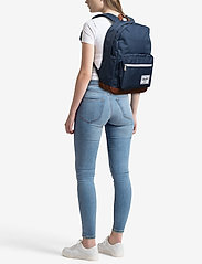 Herschel - POP QUIZ - 600D POLY NAVY - backpacks - navy - 1