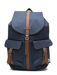 Dawson - NAVY/TAN SYNTHETIC LEATHER