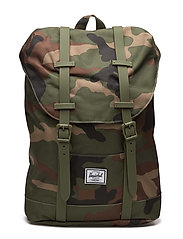 Retreat Youth - WOODLAND CAMO/ARMY RUBBER