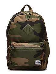 Heritage Youth-Woodland Camo/Army Rubber - WOODLAND CAMO/ARMY RUBBER
