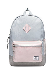 Heritage Youth-Ballad Blue Pastel Crosshatch/Rosew - BALLAD BLUE PASTEL CROSSHATCH/