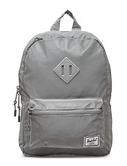 Heritage Kids backpack - SILVER REFLECTIVE RUBBER