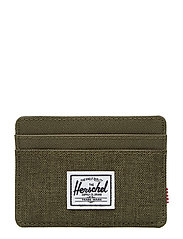 Charlie RFID - OLIVE NIGHT CROSSHATCH/OLIVE N