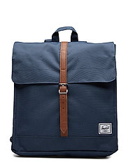 City Mid-Volume - NAVY/TAN SYNTHETIC LEATHER