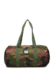 Packable Duffle - WOODLAND CAMO