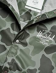 Herschel - Forecast Hooded Coach - manteaux de pluie - frog camo/windsor wine/white c - 4