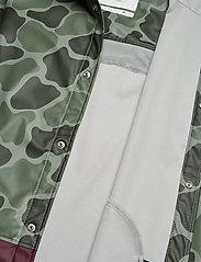 Herschel - Forecast Hooded Coach - manteaux de pluie - frog camo/windsor wine/white c - 6