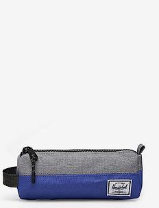 Settlement Case-Amparo Blue/Mid Grey Crosshatch/Bl - piórniki - amparo blue/mid grey crosshatc