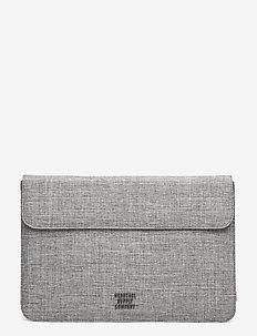 Spokane Sleeve for 12 inch MacBook - laptoptassen - raven crosshatch