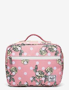 Pop Quiz Lunch Box - matbokser - polka floral peony