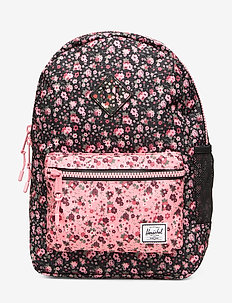 Heritage Youth-Multi Ditsy Floral Black/Flamingo P - MULTI DITSY FLORAL BLACK/FLAMI