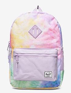 Heritage Youth - rygsække - pastel tie dye/pastel lilac