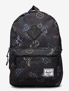 Heritage Kids - rygsække - asphalt chalk