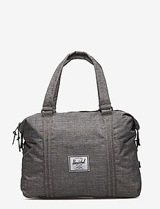 Strand - handbags - raven crosshatch